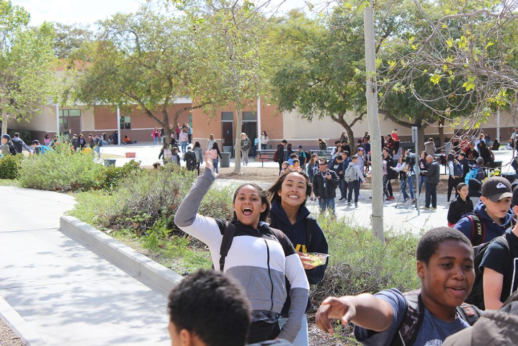 Happy Student at Eastlake Middle School