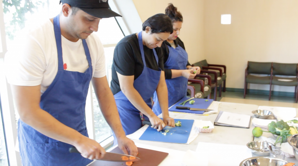 Sweetwater kitchen knife skills training