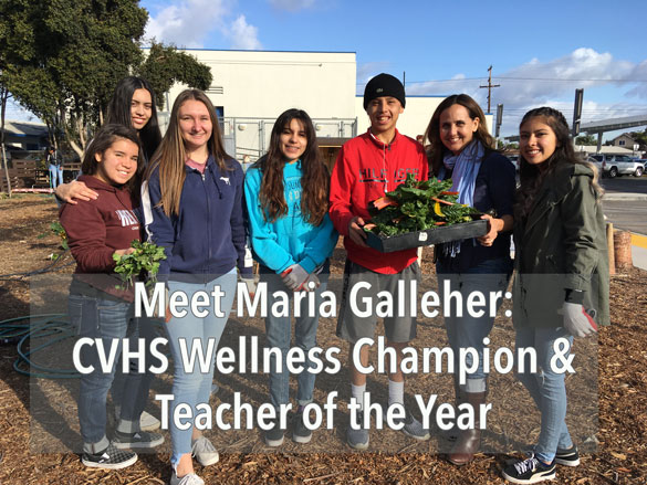 Maria Galleher Teacher of the Year and Wellness Champion