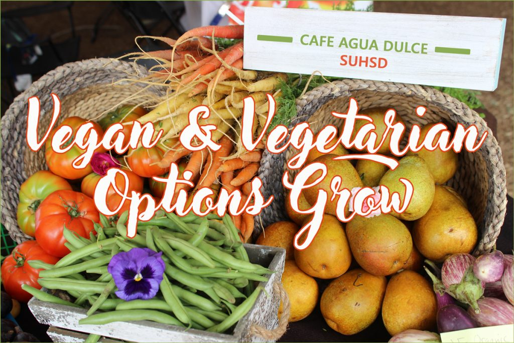 Vegan Vegetarian Options Grow