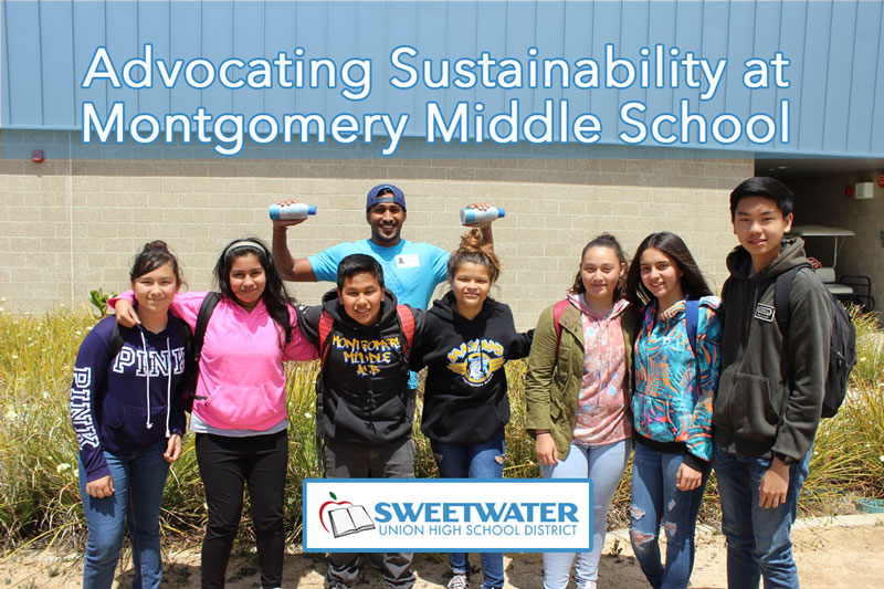 Advocating sustainability at Montgomery Middle School