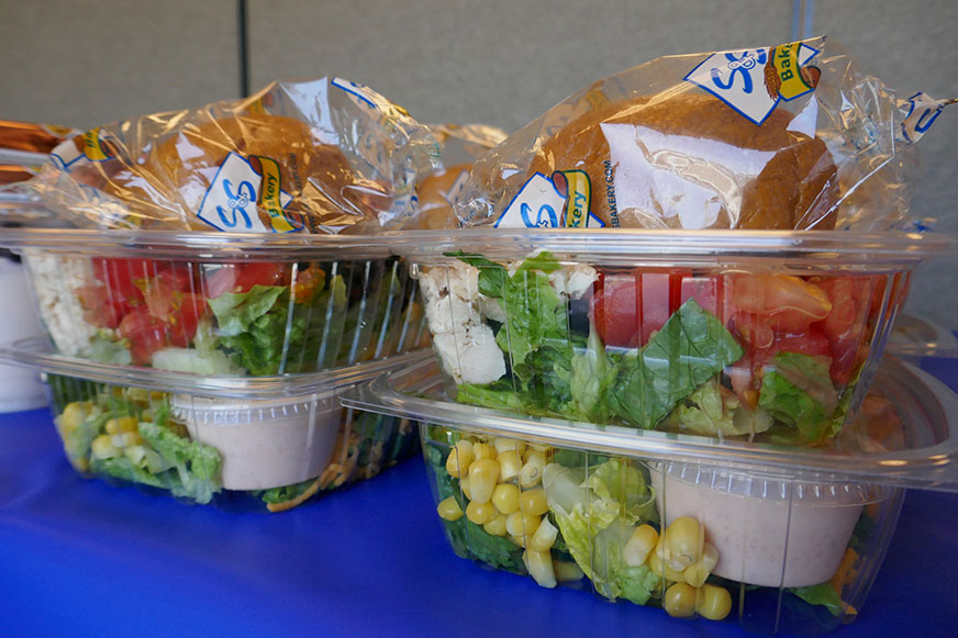 Southwest salad at summer meals
