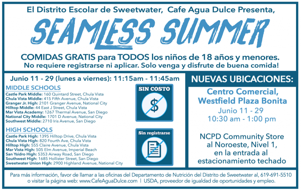 Seamless summer espanol