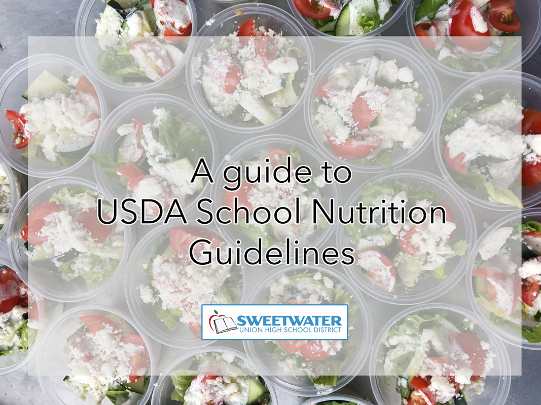 Guide to USDA guidelines